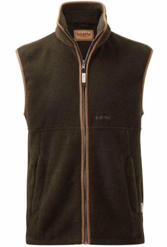 All Sizes Schoffel Oakham Dark Olive Fleece Gilet Body Warmer Polartec