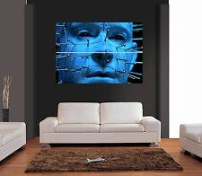 Pinhead Hellraiser Horror Vector Gigante De Pared Art Print imagen Cartel