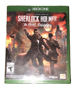 Sherlock Holmes: The Devil's Daughter Xbox One/Series X Game Rare Collectible