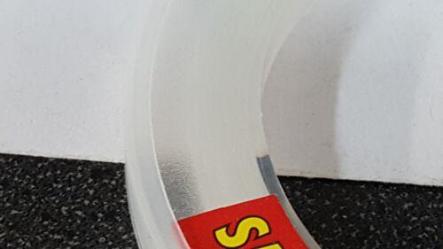 Test 50 Yards 1 Spool Trik Fish Saltwater CLEAR Leader Material 40 lbs