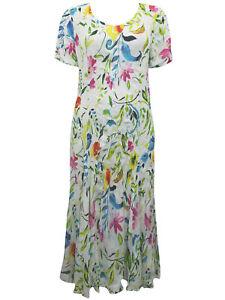 Crinkle-vestido-vestido-de-verano-Maxi-vestido-de-flores-multicolor-talla-S-M-L-4xl-22