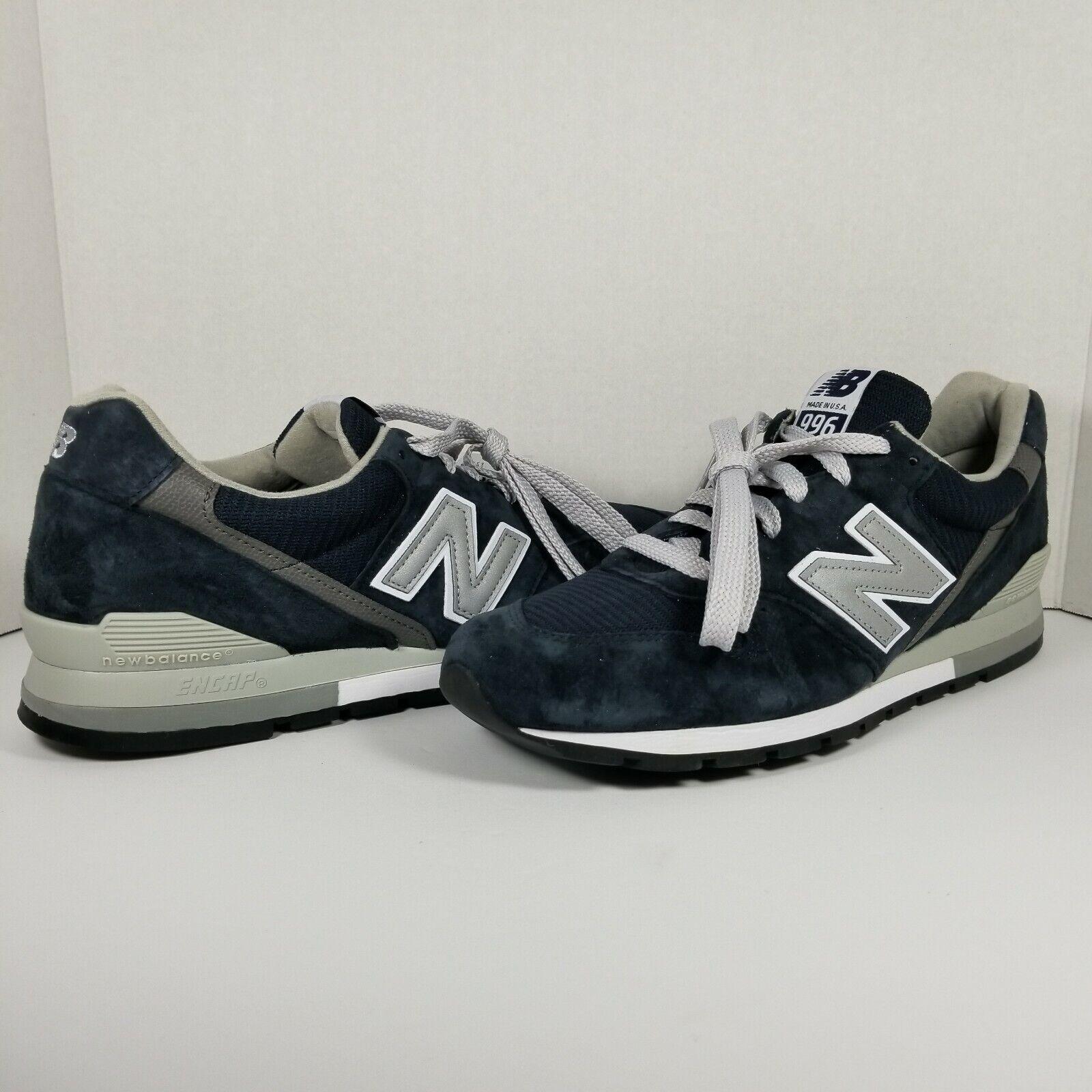Nuova bilancia 996 Navy bianca Classic  Men's Running scarpe M96NAV - Dimensione 12  benvenuto per ordinare