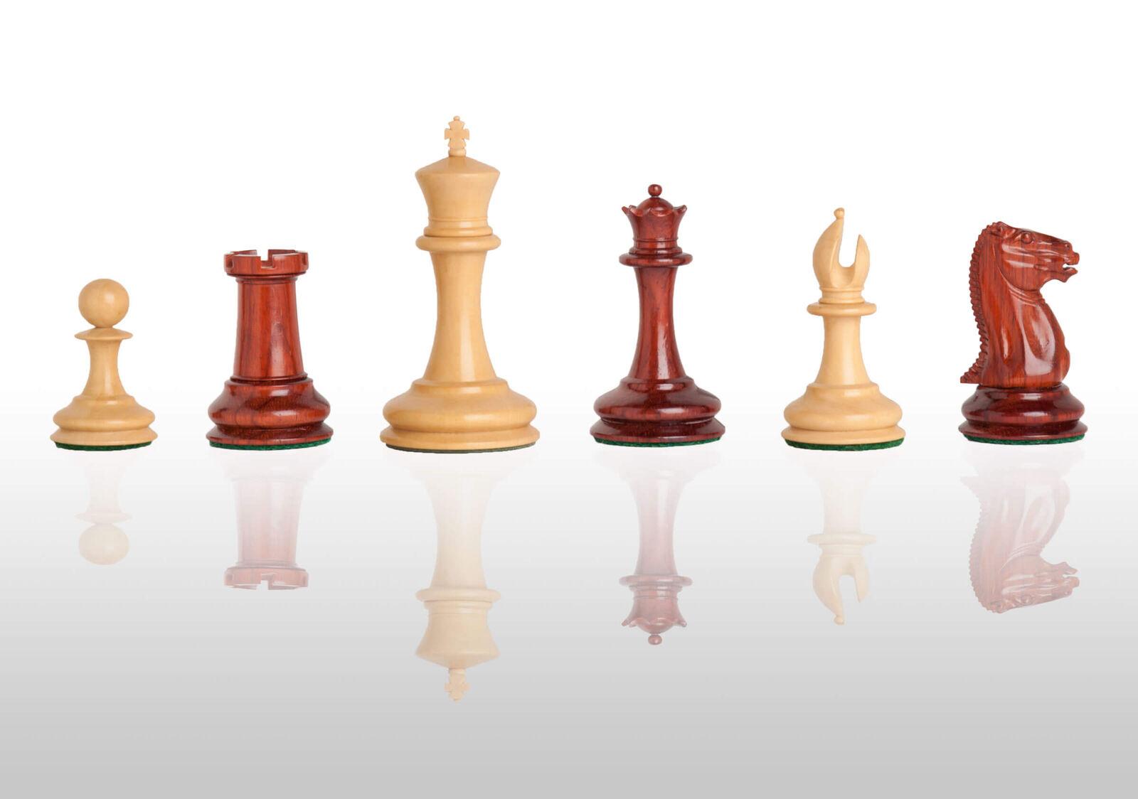 The Cooke Luxury Chess Set - Pieces Only  - 3.5  King - Blood Rosebois  avec 100% de qualité et 100% de service