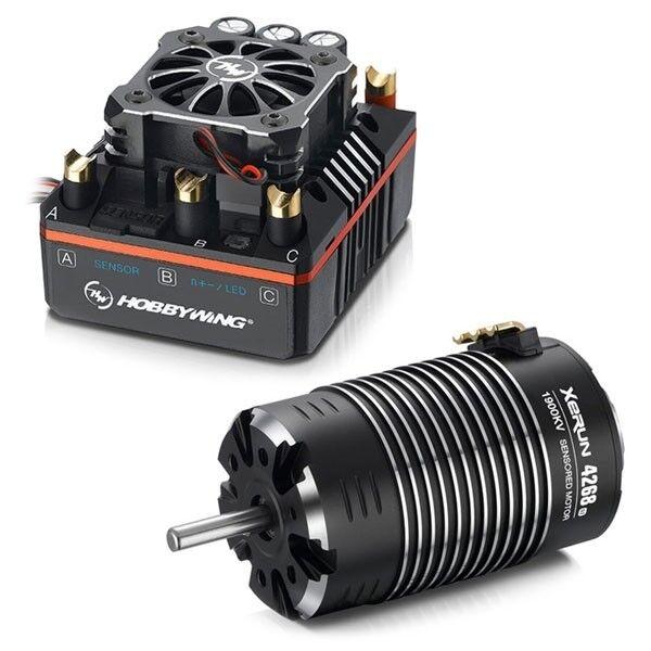 HobbyWing XeRun XR8 Plus & XeRun 4268SD G2 2600KV Motor Combo HW38020406