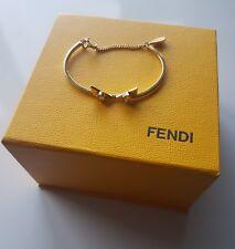 Fendi Crystal wonders bangle bracelet authentic RRP £230 size Small 14-16 cm