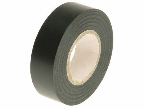 1 x Black ELECTRICAL PVC INSULATION TAPE ROLL 18 mm x 20m PROFESSIONAL 19 Flame
