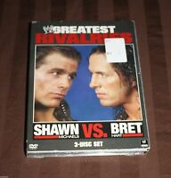 Wwe's Greatest Rivalries: Shawn Michaels Vs. Bret Hart (dvd, 3-disc Set)