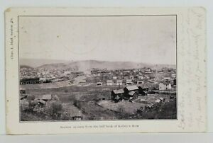 Saxton-Pa-as-Seen-from-the-Hill-back-of-Kelly-039-s-Row-1908-Reedsville-Postcard-N9
