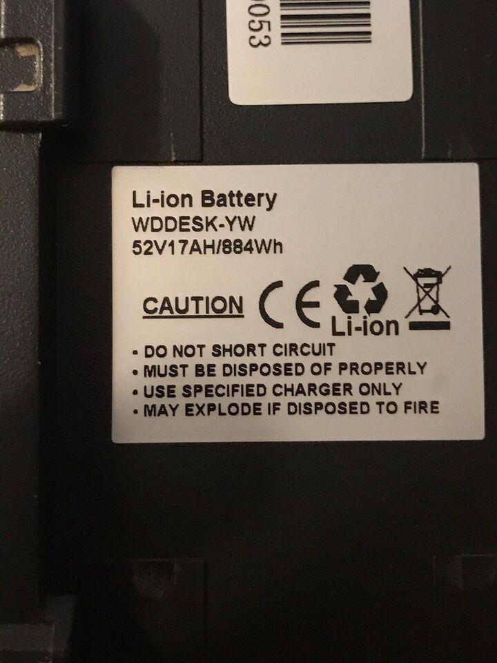 Andet, Batteri