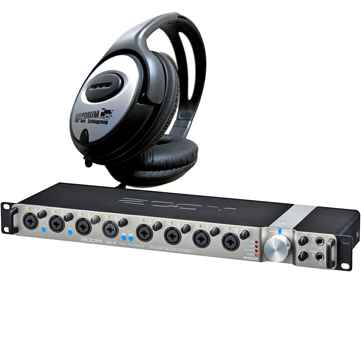 Zoom Uac-8 Interface Audio Audio Audio + écouteur  100% garantía genuina de contador