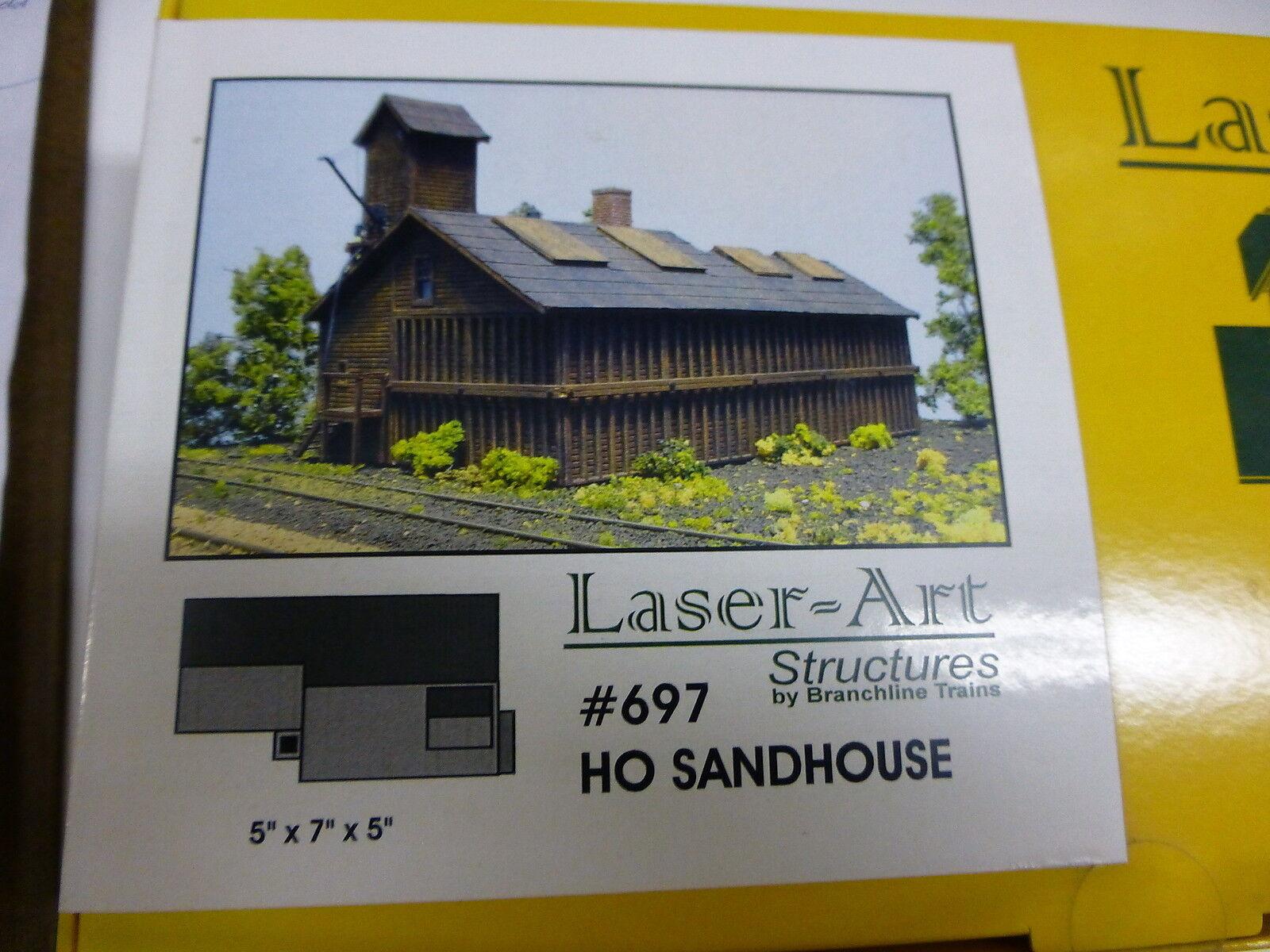 Branchline HO Sandhouse 5  x 7  x 5  (Laser Art Kit)