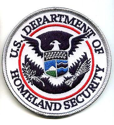 "US BORDER ICE AGENT DEPT HOMELAND SECURITY HOMELAND SECURITY VeIcrọ 3.5/"" PATCH"