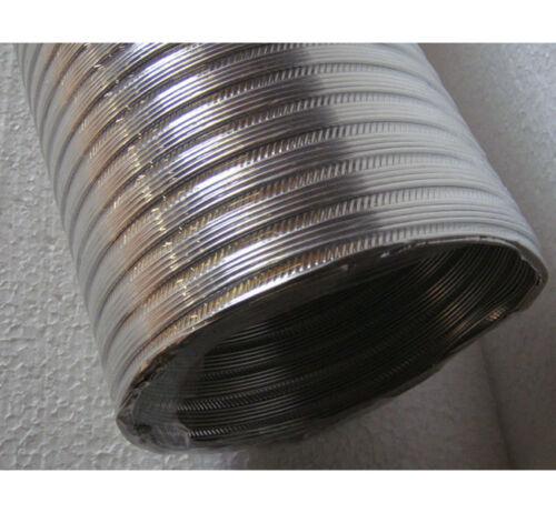 Abluftschlauch für Dunstabzugshauben ø125mm 3m Alu Flexschlauch Lüftungsrohr