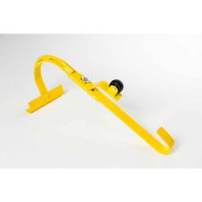 Heavy Duty Roof Ridge Ladder Hook Steel Adjustable Swivel Design With Lock