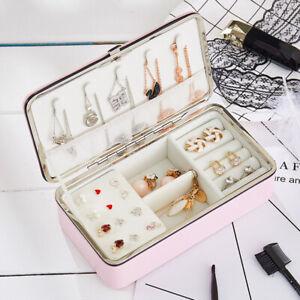 Portable-Travel-Jewellery-Box-Organizer-Leather-Ornaments-Display-Case-Storage