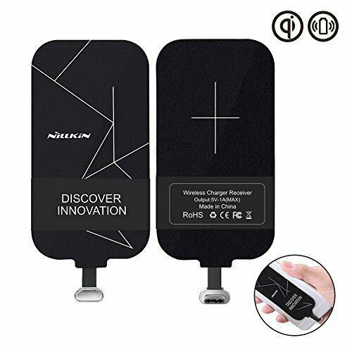 CARICABATTERIE Wireless Nillkin USB Ricevitore Qi C, [Ultra Sottile] Magic Tags Wireless