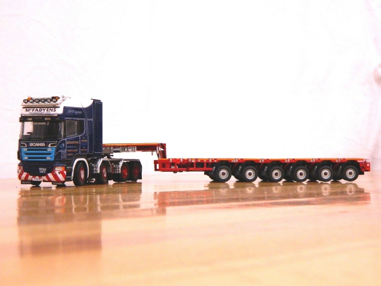 Tonkin Replicas mcfadyens Scania Topline con Nooteboom Bajo Loader 1:50