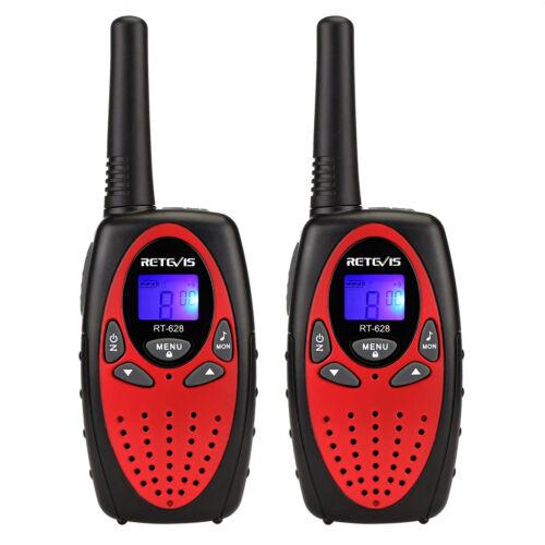 Walkie Talkie Kinder Retevis RT628 0.5W UHF 8 Kanal Weihnachtsgeschenk Funkgerät