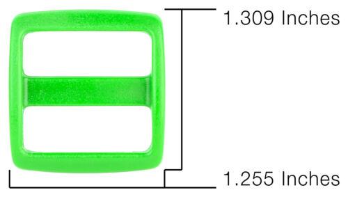 10-1 Inch Hot Green YKK Wide Mouth Heavyduty Triglide Slides