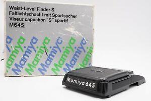 [Quasi Nuovo con Scatola] Mamiya livello della vita S Finder per M645 1000S dal Giappone