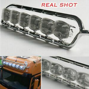 ABS-Lesu-faros-marco-para-1-14-RC-Car-Truck-DIY-modelo-TAMIYA-Benz-1851-nuevo