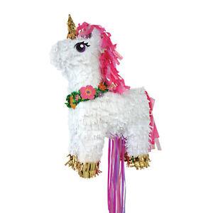 Amscan-Magical-Unicorn-Deluxe-Pull-Pinata