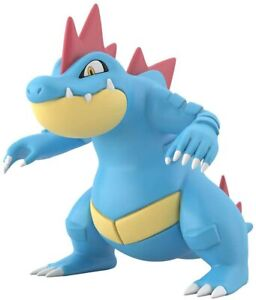BANDAI-Pokemon-Scale-World-Johto-Region-Ordile-Feraligatr-1-20-Figure-JAPAN