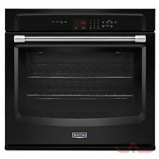 "Maytag 30"" Black Electric Wall Oven MEW7530DE"