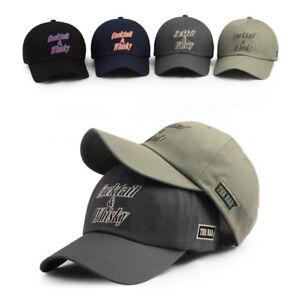 Details about XL XXL 2XL 61~64Cm Unisex Mens Mqum Cocktail & Whisky  Baseball Cap Trucker Hats