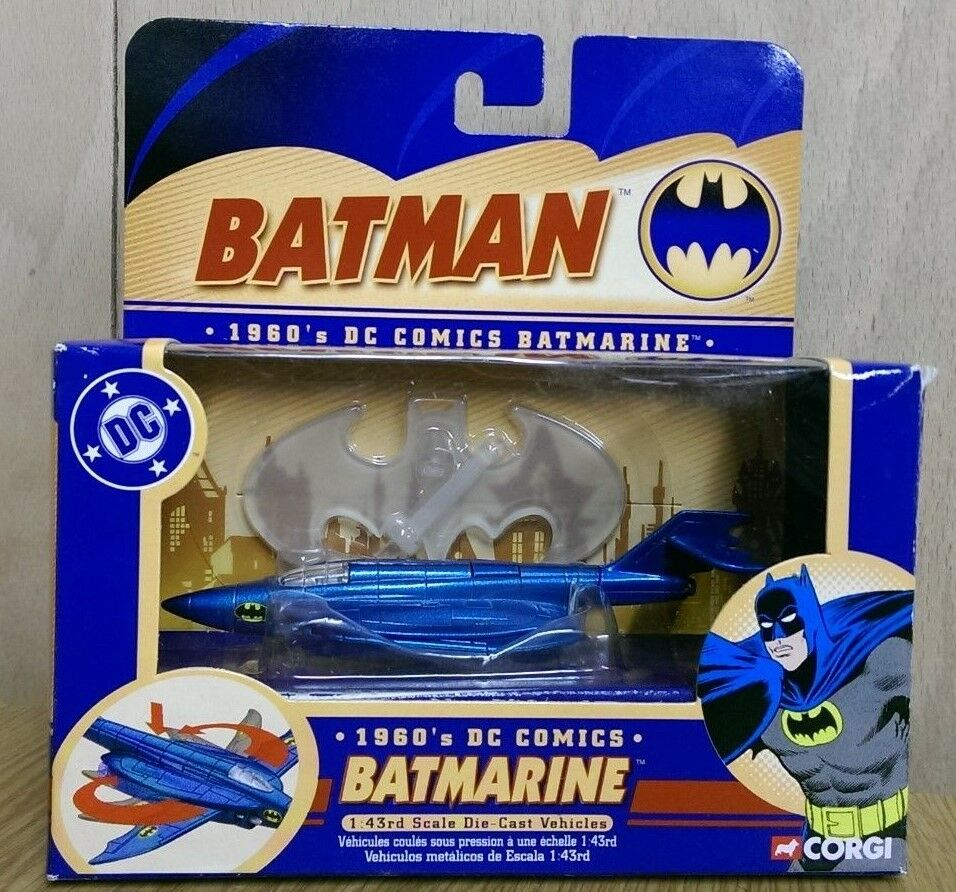 Corgi 77305 batman dc comics 1   43 jahre batmarine