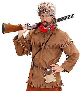 Mountain Trapper Jager Kostum Neu Herren Karneval Fasching