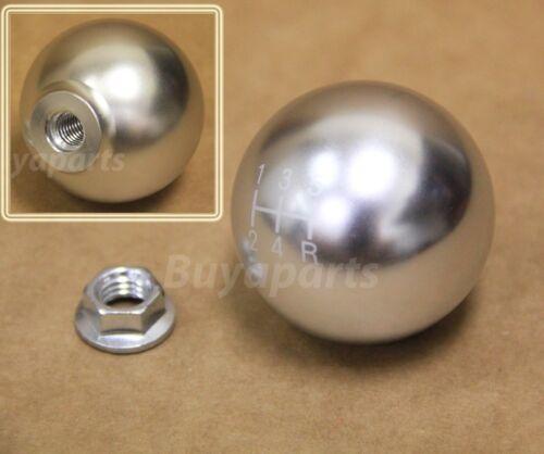 Polished aluminum ball style 5 speed Shift KNOB for Honda CRX 88-91 EF EF2 EF9