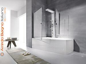 Vasca Da Bagno Hafro Prezzi : Colonna doccia idromassaggio hafro etoile 55 125 160 x 21 x 60