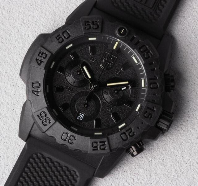 9ab2816fd Luminox XS.3581.BO Navy Seal Chronograph 3580 Series 45mm Men's Watch