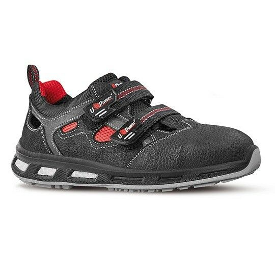 UPower Cody Safety Trainers / Shoes Black Mens & Womens Toe Cap Snickers Direct