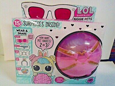 Doll New 100/% Real Authentic 2018 LOL SURPRISE! BIGGIE PETS M.C HAMMY L.O.L