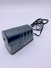 X Acto Powerhouse Electric Pencil Sharpener Black Tested And Works