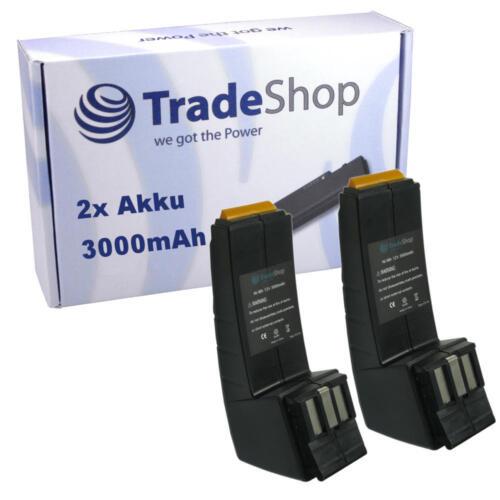 2x Batterie pour Festool Festo 12v 3000mah 3ah 490360 bp12c bph12 bph12c