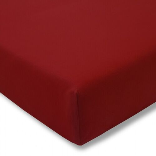 Estella Fine Jersey Fitted Sheet Fitted Sheet 200 x 200 CM in many colours