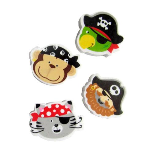 Radiergummi Pirat Radierer Mitgebsel Give-a-way Kindergeburtstag Mitbringsel