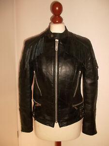 vintage-Motorradjacke-campri-genuine-apache-Lederjacke-motorcycle-jacket-S