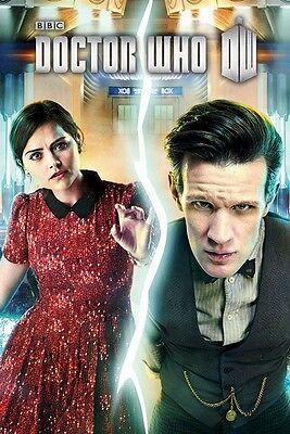 DOCTOR WHO 11 POSTER ~ CLARA CRACK 24x36 Matt Smith TV DR Oswald Jenna Coleman