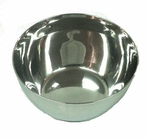 Neelam Stainless Steel 6pc Bowl Set 8cm x 4.5cm Condiments Camping Dip Bowls