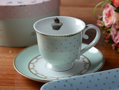 Creative Tops Katie Alice Cupcake Couture Porcelain Cup & Saucer