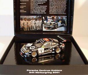 Minichamps-1-43-Porsche-911-GT3R-1-Warsteiner-PZK-24h-Sieger-Nurburgring-2001