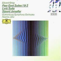 Grieg Peer Gynt Suiten Nr. 1 & 2, opp. 46, 55/Lyric suite, op. 54/Sigurd .. [CD]