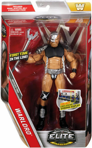 WWE ELITE SERIES 50 WARLORD LEGENDS WWF WCW NEW WRESTLING MATTEL ACTION FIGURE