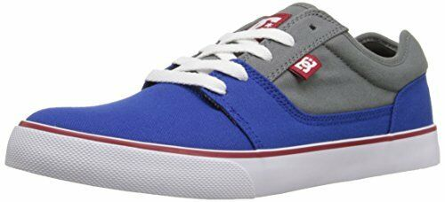 DC Shoes Uomo Tonik TX Skateboarding Shoe, Grey/Grey/Green, 7.5 D US