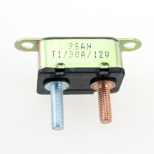Auto Automatic Fuse Reset Circuit Breaker Copper Stud Bolt Type—12V 30A//40A//50A