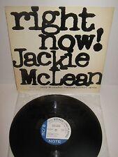 JACKIE McLEAN – Right Now! – vinyl LP like new!